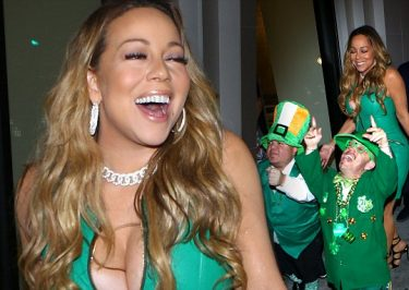 MARIAH Carey Has a Fun-Filled St. Patrick's With Bryan TANAKA!