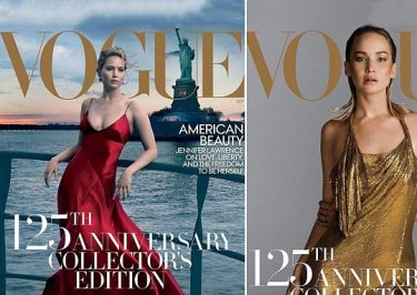 Jennifer Lawrence Covers VOGUE, Talks About Dating 50-Year-Old Men!