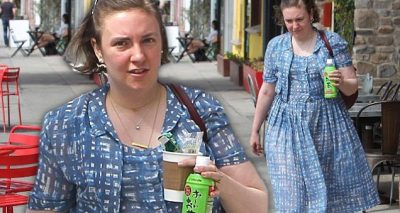 Lena Dunham Spends Day With SIA