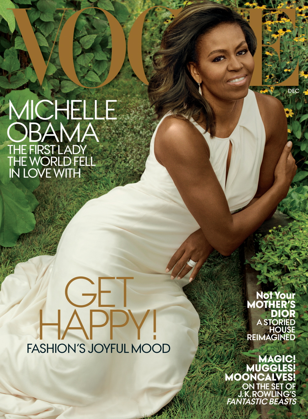 FASHIONABLE FLOTUS: Michelle Obama Covers Vogue December 2016 image