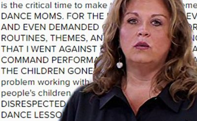 Abby Lee Miller Quits DANCE MOMS!