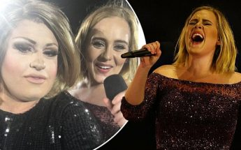 ADELE Invites LOOKALIKE Drag Impersonator to Join Her ON STAGE