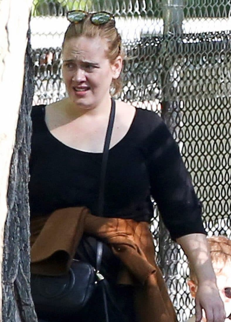 It's a ZOO LIFE: Adele Spends Day Off @ The Toronto ZOO image