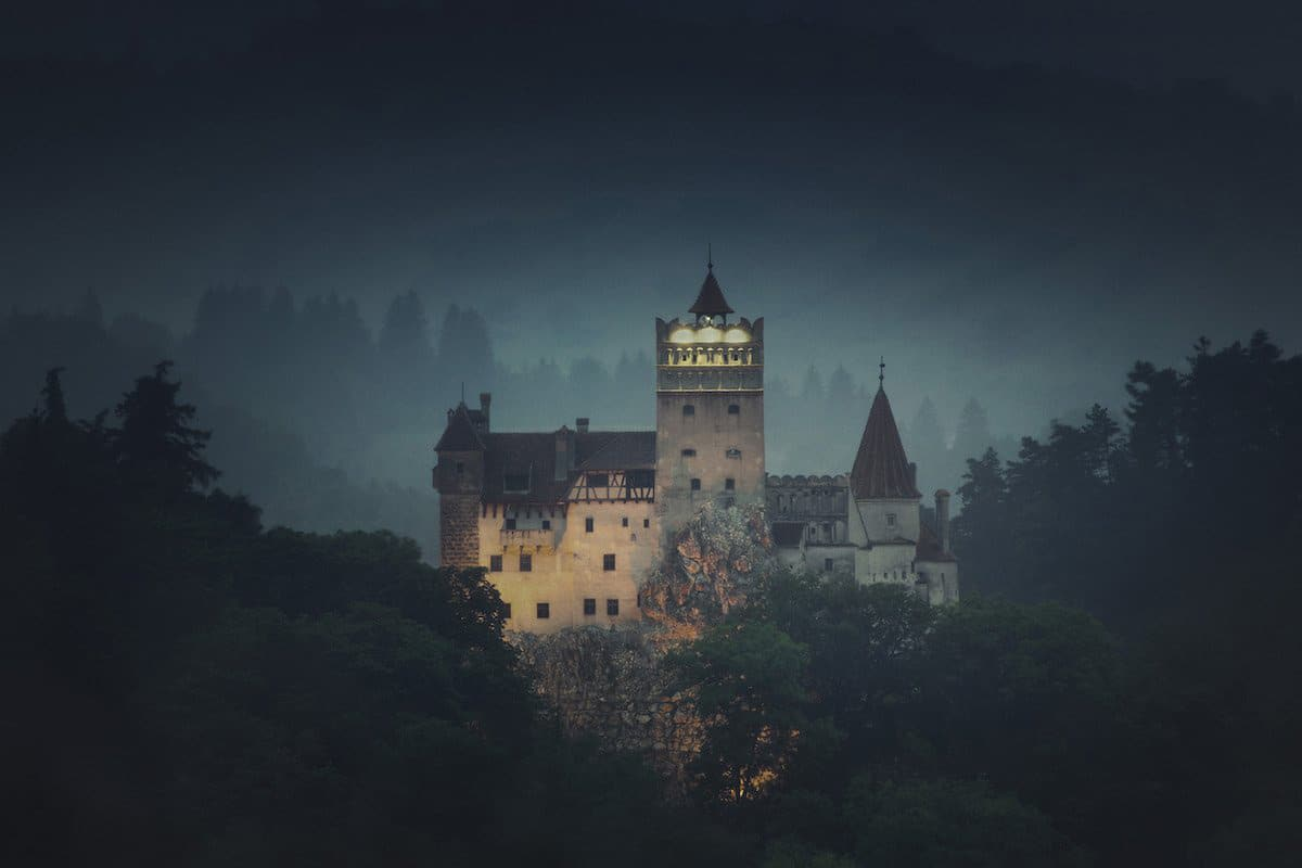 Rent Dracula's Castle on AirBNB