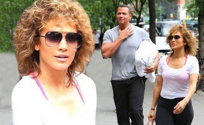 Jennifer Lopez Is Off to the GYM With Alex Rodriguez in NYC