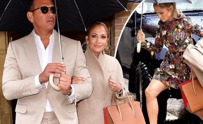 "Alex Rodriguez Calls Jennifer Lopez an ""Amazing Girl"" on 'The View'"