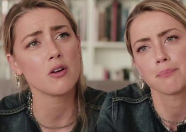 WEH WEH Amber Heard WEEPS in New Domestic Violence PSA!