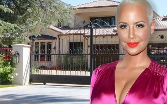 Amber Rose ROBBED! Burglar Was Hiding in Her Home While She Slept…