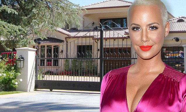 Amber Rose ROBBED! Burglar Was Hiding in Her Home While She Slept... image