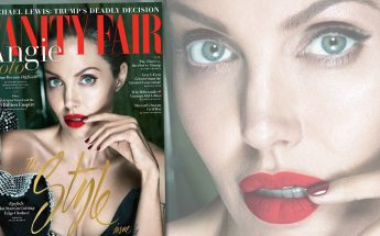 Angelina Jolie is a MALEFICENT Woman On 'Vanity Fair' Cover