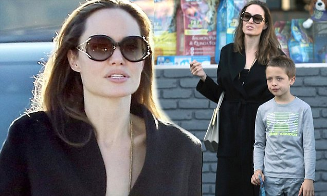 "Angelina Jolie Must Give Brad Pitt Kids ""EVERY OTHER DAY"" image"