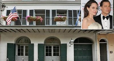 EMPTY HALLWAYS: Brad Pitt and Angelina Jolie Sell Their New Orleans Home…