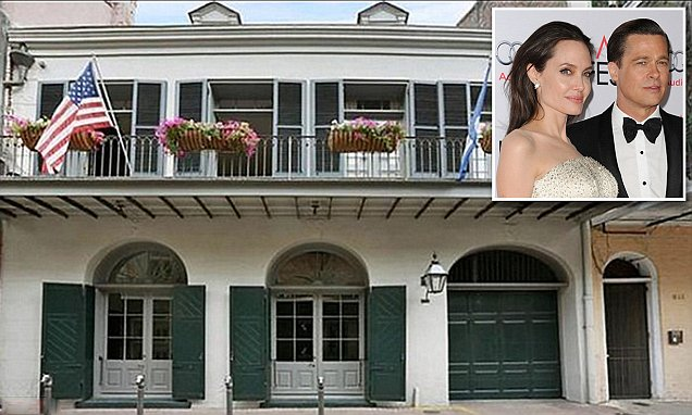 EMPTY HALLWAYS: Brad Pitt and Angelina Jolie Sell Their New Orleans Home... image