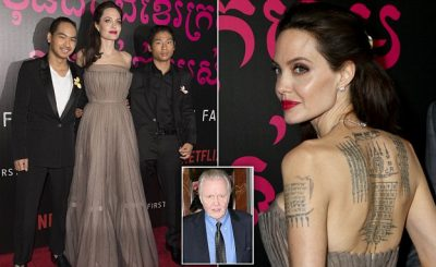 MADDOX, Pax, and Jon Voight Join Angelina Jolie at 'First They Killed My Father' Premiere