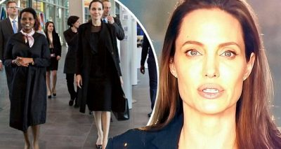 ACTRESS ON THE VERGE: Angelina Jolie Sends Video ✉️ to International CRIMINAL Court!