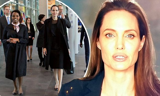 ACTRESS ON THE VERGE: Angelina Jolie Sends Video ✉️ to International CRIMINAL Court! image