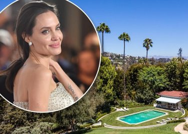 Angelina Jolie Buys $25 Million Hollywood MANSION!