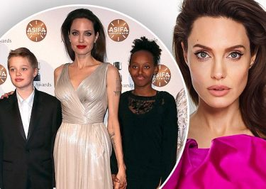Angelina Jolie Covers ELLE, Says She Scolds Kids REGULARLY!