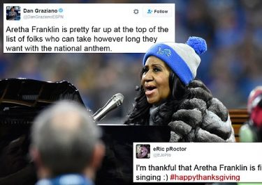 GET A MOVE ON: People are FURIOUS With Aretha Franklin Over Lengthy National Anthem Performance