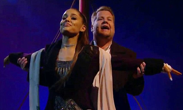 Ariana Grande Performs TITANIC Soundtrack By Celine Dion image