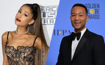 Ariana Grande & John Legend Singing Theme For Disney's 'Beauty & The Beast'
