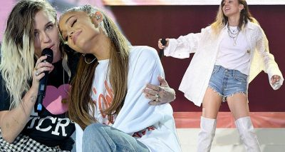 Ariana Grande 'One Last Time' Performance at 'One Love Manchester' ft. Miley Cyrus, Katy Perry, Niall Horan