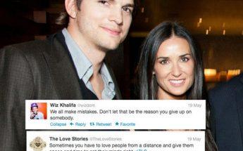 Ashton Kutcher STARVED Himself After Demi Moore Divorce!
