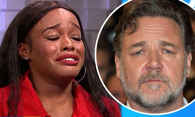 CROCODILE TEARS??? Azealia Banks 'Weeps' As She Talks About Russell Crowe Assault! image
