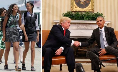 What Barack Obama Told His Daughters About Donald Trump!