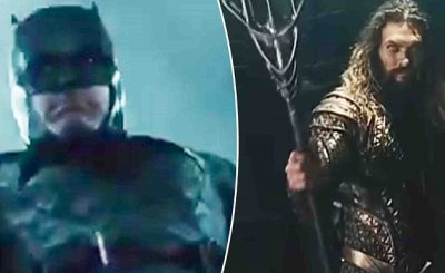 New JUSTICE LEAGUE Teasers Ft. Ben Affleck as BATMAN