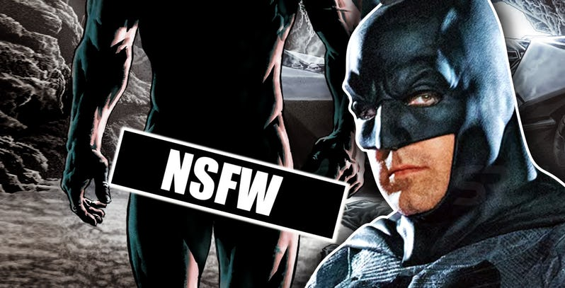 Batman Goes NUDE in New DC Comic image