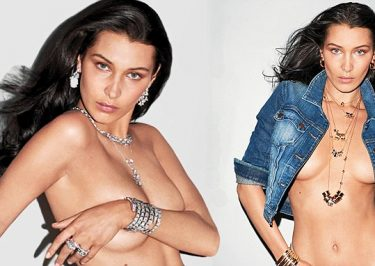 Bella Hadid Goes NUDE For 'V Magazine'