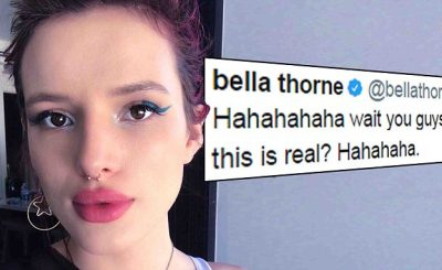 Bella Thorne Claims NUDE VIDEO is Fake!
