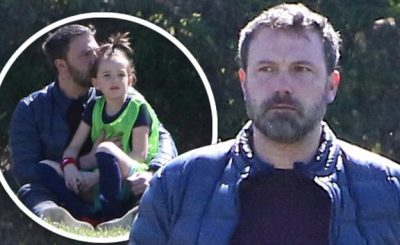 SOCCER DAD: Ben Affleck Watches Over Daughter's Soccer Practice! What an Amazing Man!
