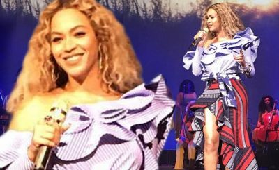 SO MUCH BEYONCE: Beyoncé Performs 'DRUNK IN LOVE' at Her OWN Company's Holiday Gala