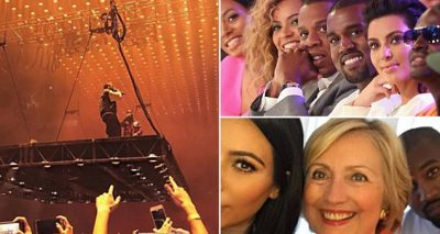 """""""WHO IS THIS MAN??"""" Kanye West SLAMS Beyoncé, Hillary Clinton, Jay-Z, and Wife Kim in Sacramento!"""