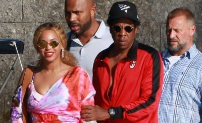 Jay-Z and Beyoncé VACATION IN ITALY!