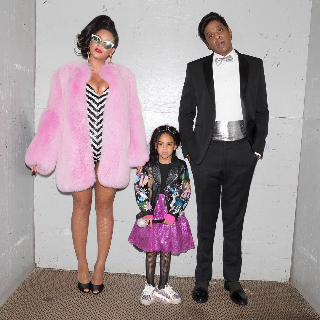 Beyonce and JAY-Z Dress Up as Black Barbie & Ken For Halloween