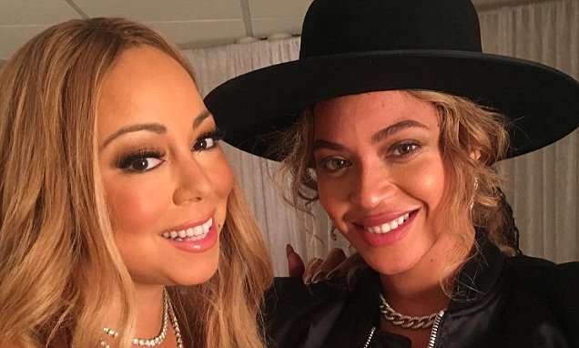 Beyoncé Provides Crying Shoulder For Recently Separated Mariah Carey image