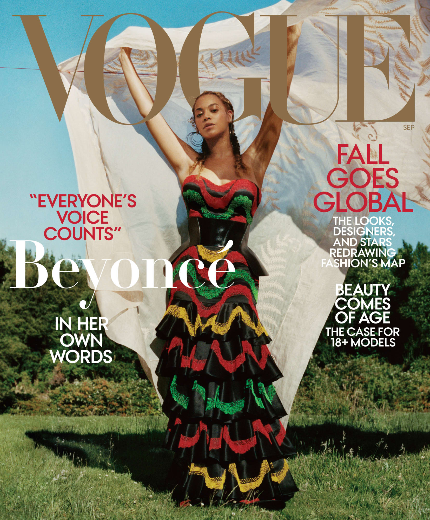 Beyoncé Covers VOGUE's September 2018 Issue! image