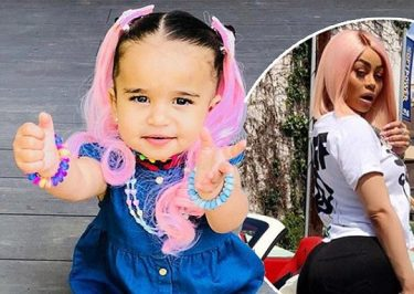 Pink Hair, Don't Care: Blac Chyna DYES Daughter's Hair PINK!
