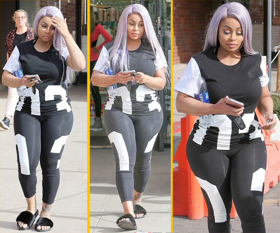 Blac Chyna Shows Off AMAZING WEIGHT LOSS Only 9 Days After Giving Birth!