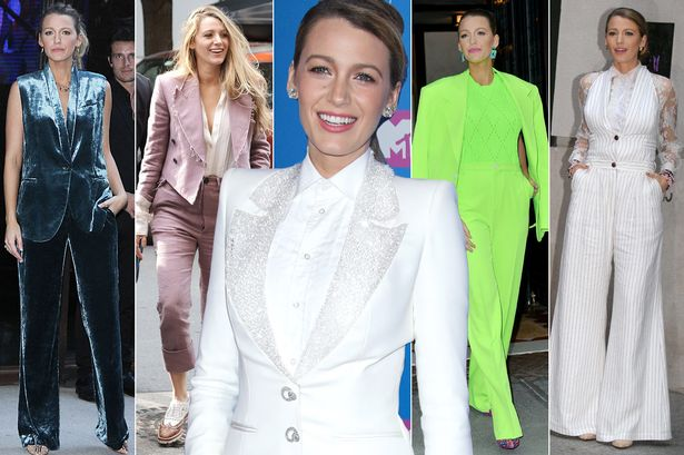 Blake Lively Responds to Jokes About Her Pantsuits! image
