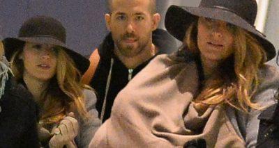 """""""BLAKE LIVELY KEEPS ME SANE"""" Says Ryan Reynolds in Variety Magazine"""