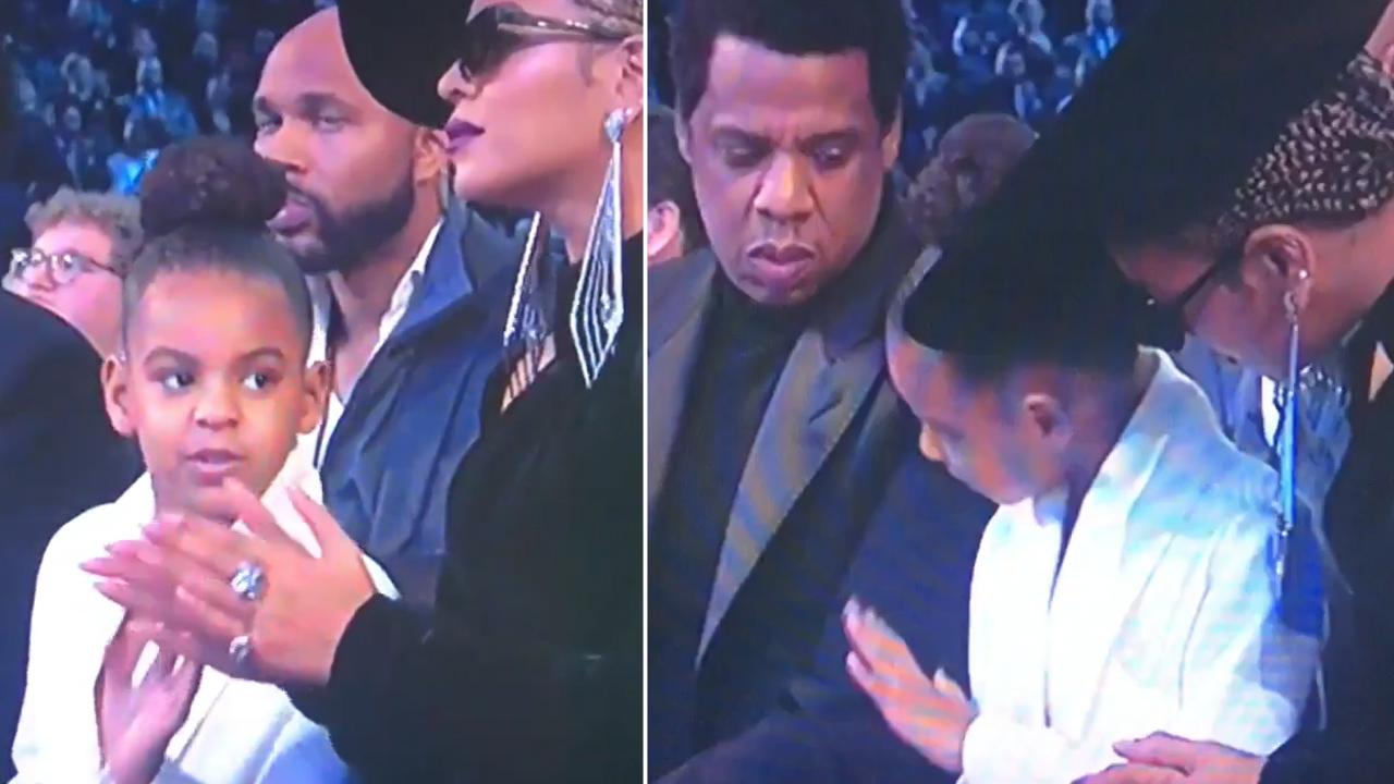 Beyoncé's Daughter BLUE IVY Tells Mom to SIMMER DOWN! image