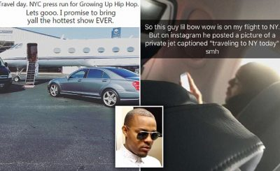 Bow Wow Inspires #BowWowChallenge After LYING About Private Jet!
