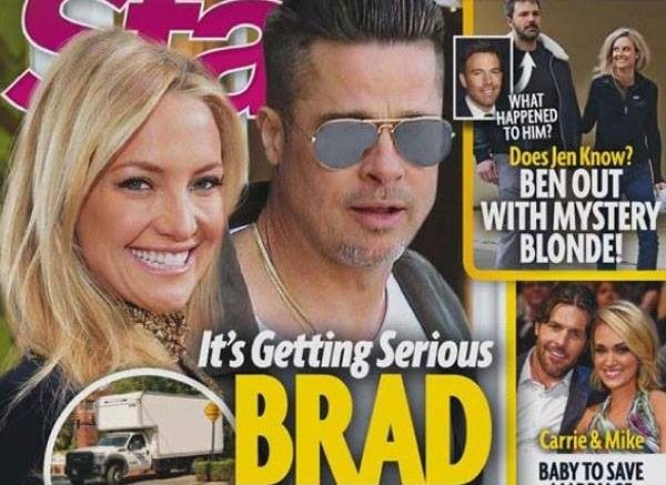 Brad Pitt MOVES IN With Kate Hudson