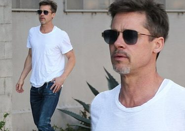 Brad Pitt Looks DISASTROUSLY Slender in New Photos!