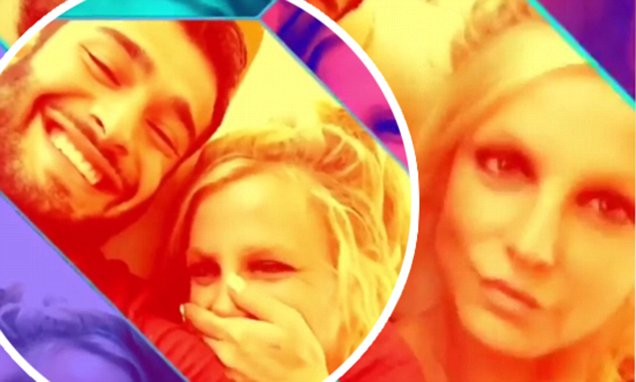 BRITNEY SPEARS and Sam Asghari Share Couple Video