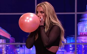 Britney Spears Inhales Helium and Sings 'Shake It Off' By Taylor Swift